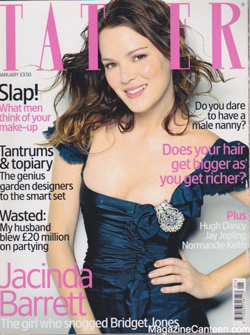 Tatler Magazine - January  2005 - Jacinda Barrett