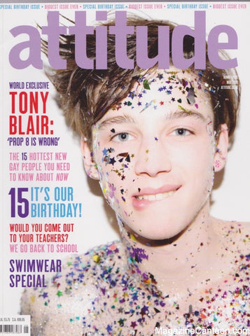 Attitude Magazine - 178 - The 15th Birthday issue.