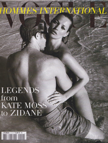 Vogue Hommes Magazine - Kate Moss - 2010
