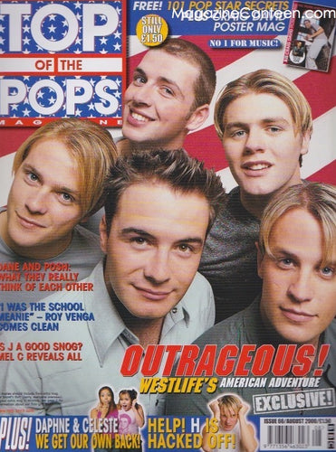 Top Of The Pops Magazine  66 - Westlife