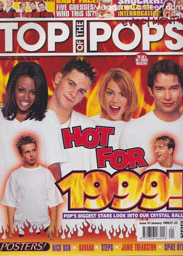 Top Of The Pops Magazine 47 - All Saints