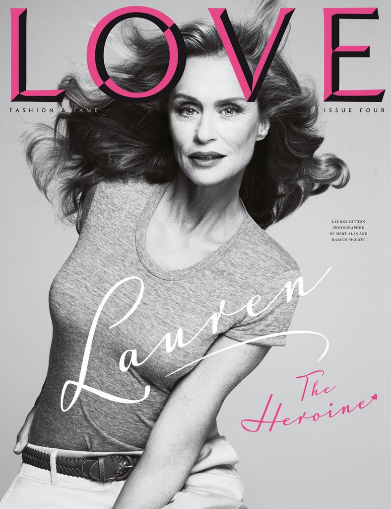 Love Magazine Issue 4 Lauren Hutton