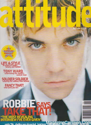 Attitude Magazine 1996 - 27 - Robbie Williams
