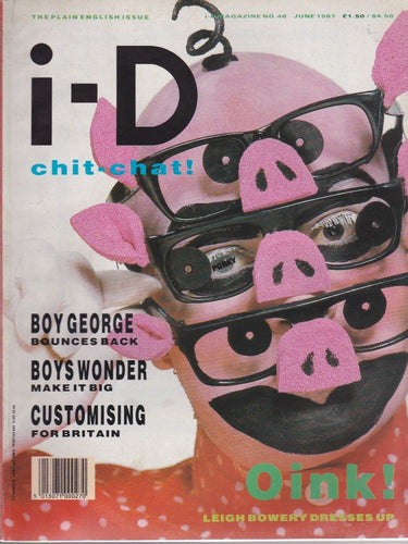 I-D Magazine 48 - Leigh Bowery JUNE 1987