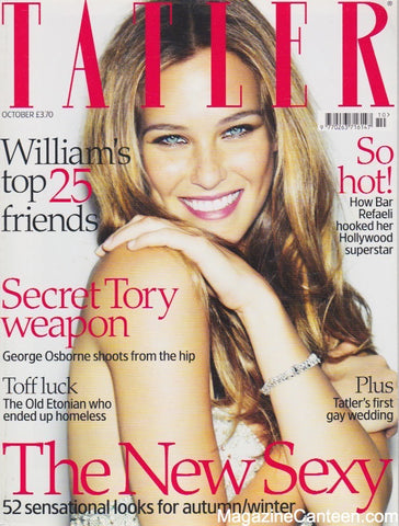 Tatler Magazine - October 2007 - Bar Refaeli