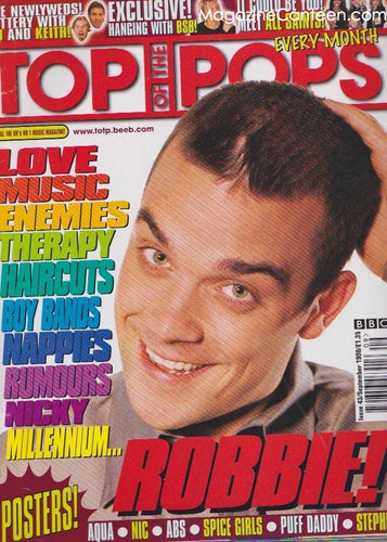 Top Of The Pops Magazine  43 - Robbie Williams