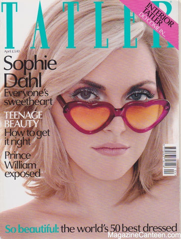Tatler Magazine - April 2003 - Sophie Dahl