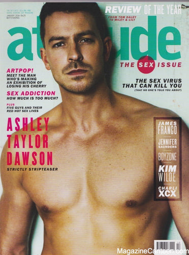 Attitude Magazine -2014 - 239  Ashley Taylor Dawson