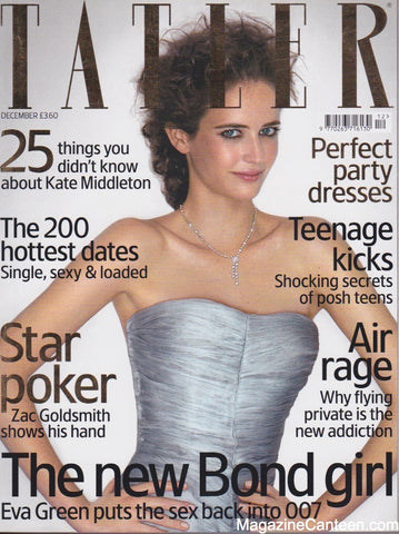 Tatler Magazine - December 2006 - Eva Green