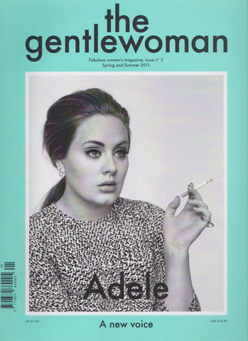 The Gentlewoman Magazine 3 - Adele