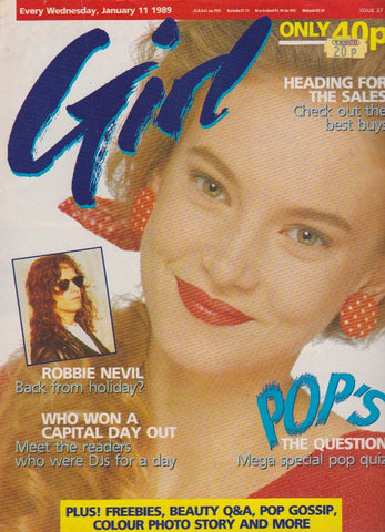 Girl Magazine - Robbie Nevil
