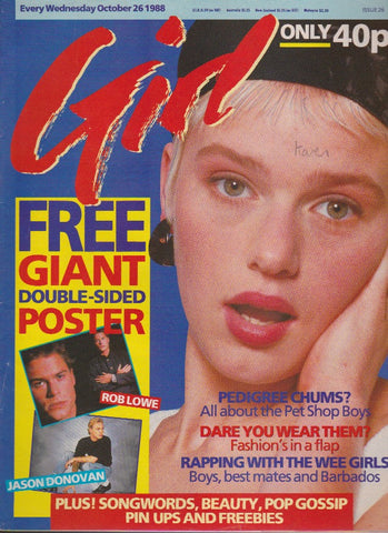 Girl Magazine - The Pet Shop Boys