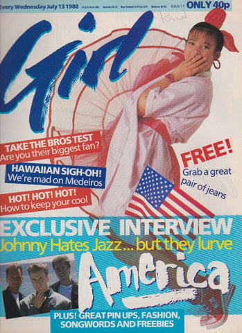 Girl Magazine - Johnny Hates Jazz