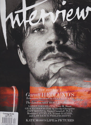 Interview Magazine - Garrett Hedlund
