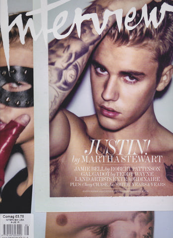 Interview Magazine - Justin Bieber by Steven Klein