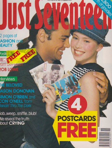 Just Seventeen Magazine - Jason Donovan
