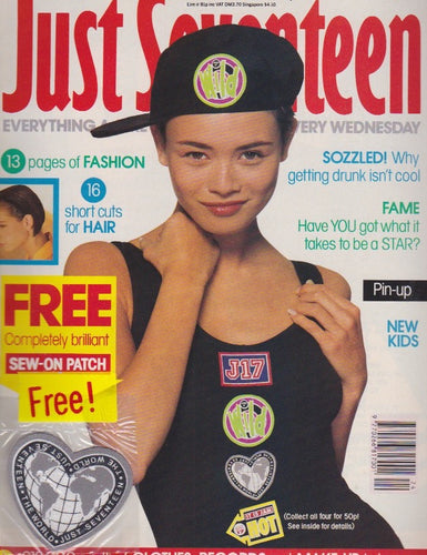 Just Seventeen Magazine - Includes patch.