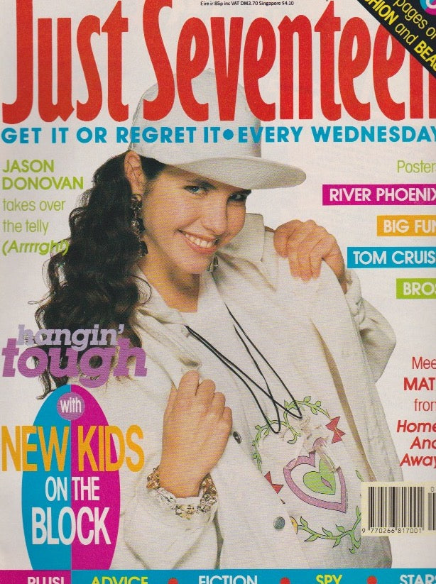 Just Seventeen Magazine - New Kids On The Block