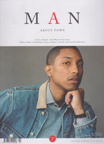 Man About Town Magazine - Pharrell Williams