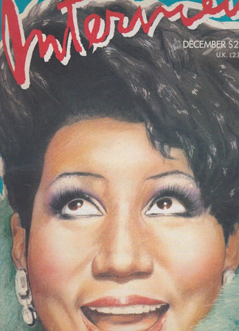 Interview Magazine - Aretha Franklin
