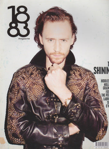 1883 magazine - Tom Hiddleston