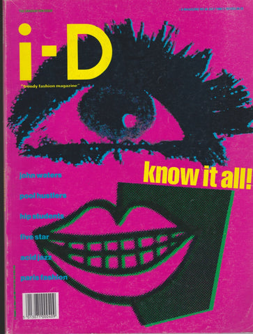 I-D Magazine 60 - The Graduation issue 1988