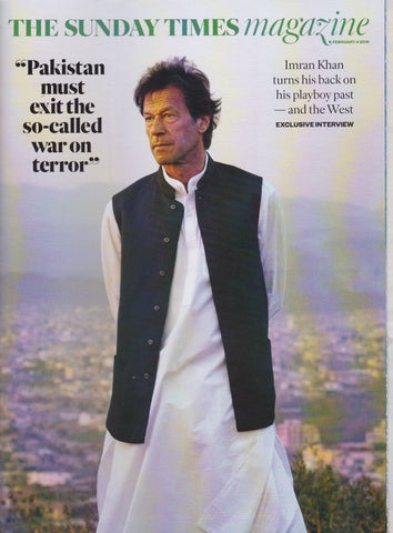 Sunday Times Magazine - Imran Khan