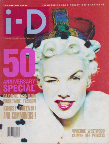 I-D Magazine 50 - Sarah Stockbridge 1987