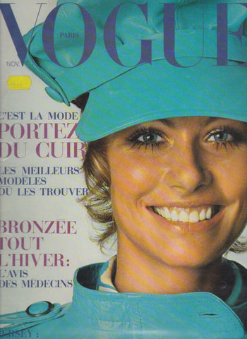 Vogue Paris Magazine - - Susan Schoenberg