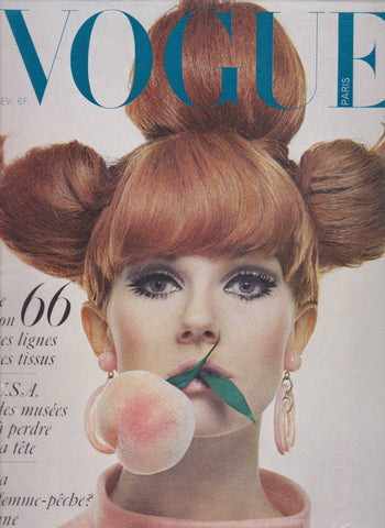 Vogue Paris Magazine - 1966 - Nicole De Lamarge Guy Bourdin