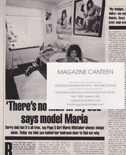 Magazine - Maria Whittaker - My Bedroom