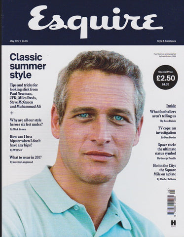 Esquire Magazine - May 2017 - Paul Newman