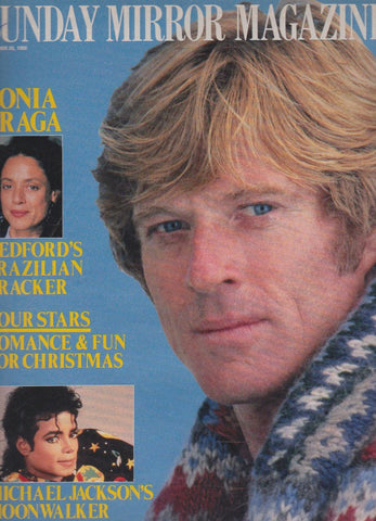 Mirror Magazine - Robert Redford