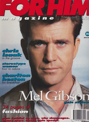 For Him Magazine - 23 1991 Mel Gibson
