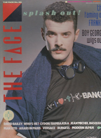 The Face Magazine - 1984 - Paul Rutherford december frankie goes to hollywood