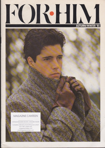 For Him Magazine - 1985 - issue 2