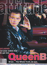 Load image into Gallery viewer, Attitude Magazine 2001 - 90 - Brian Dowling