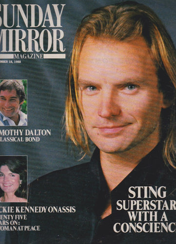 Mirror Magazine - Sting The Police