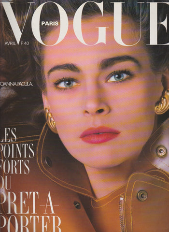 Vogue Paris Magazine - Joanna Pacuła