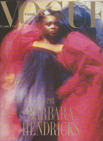 Vogue Paris Magazine - Barbara Hendricks