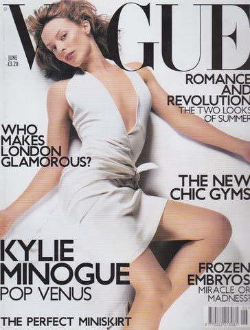 Vogue Magazine - June 2001 - Kylie Minogue