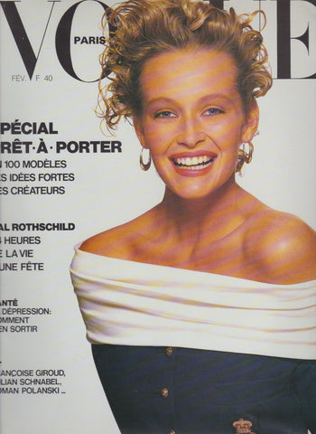Vogue Paris Magazine - Estelle Lefébure