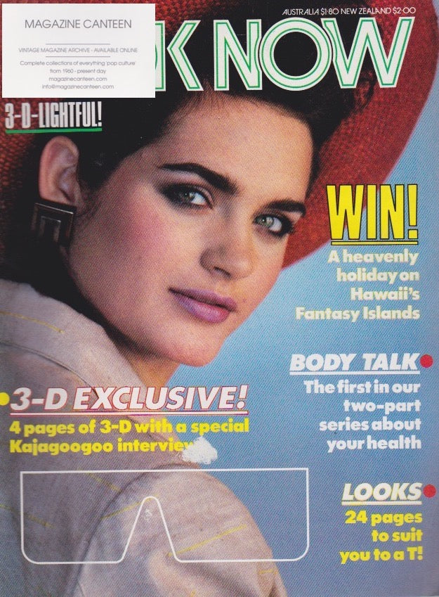 Look Now Magazine - Michael Praed David Jaymes Modern Romance