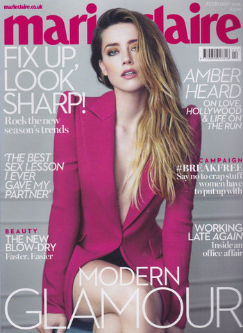 Marie Claire Magazine - Amber Heard