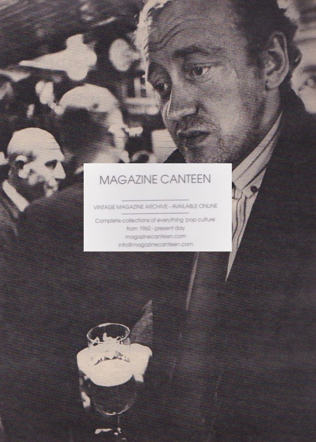 The Telegraph Magazine - Cecil Beaton - Nicol Williamson