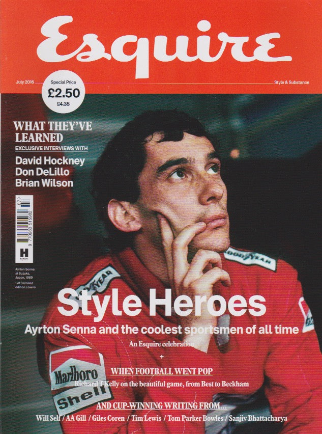 Esquire Magazine - July 2016 - Ayrton Senna