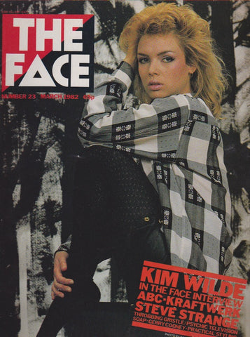 The Face Magazine March 1982 - Kim Wilde