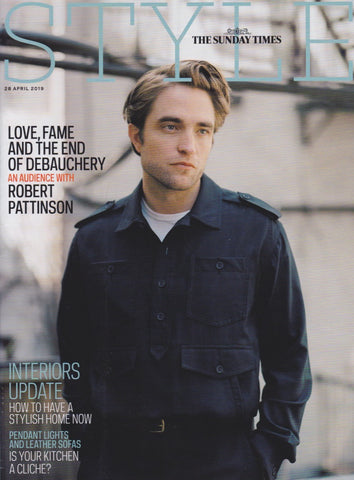 Style Magazine - Robert Pattinson