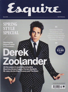 Esquire Magazine - March 2016 - Ben Stiller