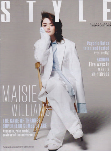 Style Magazine - Maisie Williams
